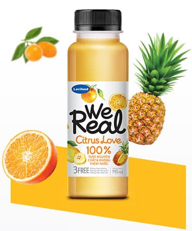 We Real - Citrus Love